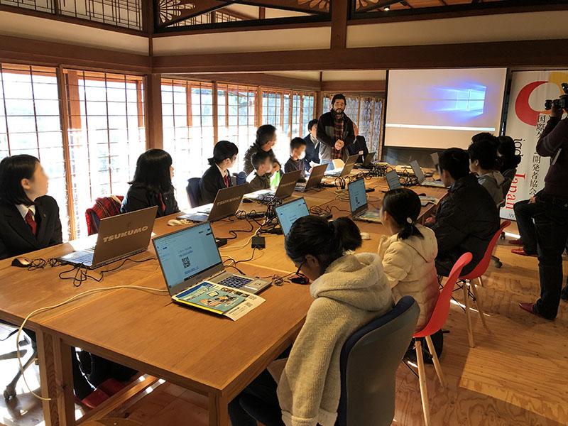 unity デジタルからくり装置作りワークショップ 奥出雲 2019